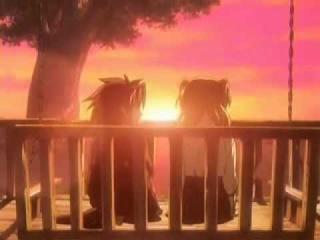 Клип по Аниме  Крестовый поход Хроно    Последний закат в их жизни