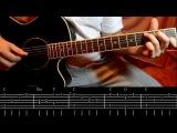 В лесу родилась елочка | Как играть на гитаре (разбор песенки)