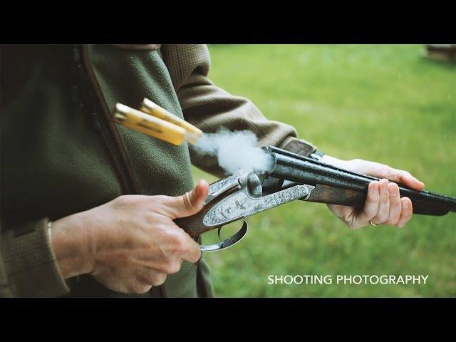 Slow Motion Clay Shooting Phantom Flex
