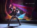 Сергей Лемох из Кар-Мэн показывает, как танцевать рейв. 1992 год.