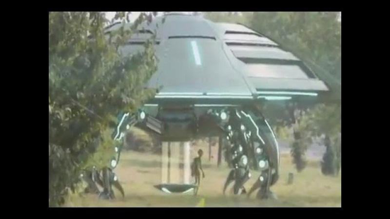 UFO Сенсация. Посадка НЛО и высадка гуманоида