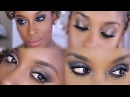 Urban Decay Naked Smoky Palette 4 LOOKS! Review | Jackie Aina