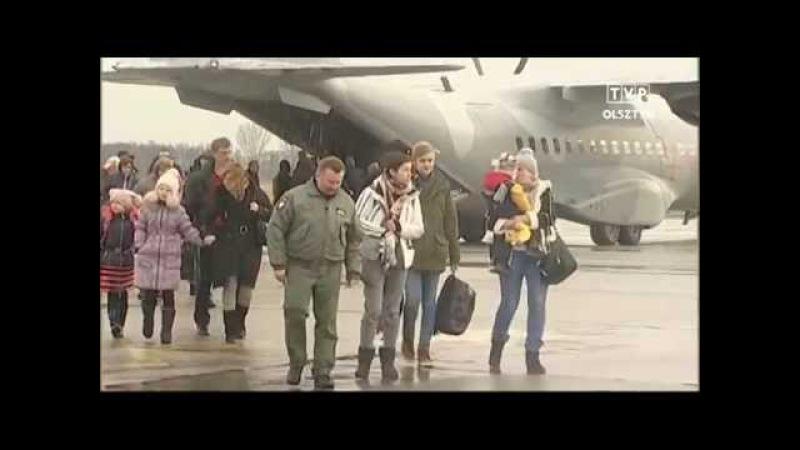 TVPOLSZTYN - Ukraińskie Wieści - Uchodźcy z Donbasu