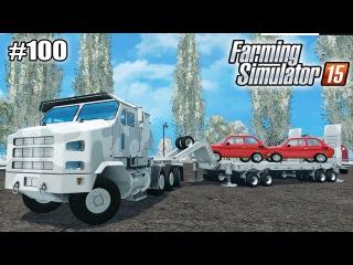 Farming Simulator 15 моды: ТЯГАЧ OSHKOSH и POLSKI FIAT (100 серия)