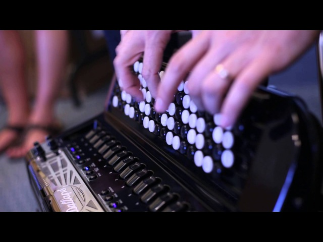 Ludovic Beier Looping on the Roland FR-8x V-Accordion