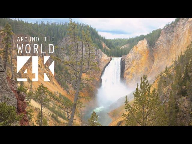 The Amazing Yellowstone National Park - 4K