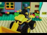 LEGO Classic Town Bulldozer stop motion