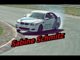 Sabine Schmitz Action Beautiful BMW M5 E60 Ringtaxi Drift´s @ Carfreitag Adenauer Forst 2007 ✔