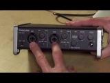 Tascam US-2x2 USB Audio Interface - Connect high quality microphones via USB