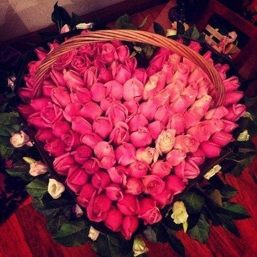 большой букет цветов фото: