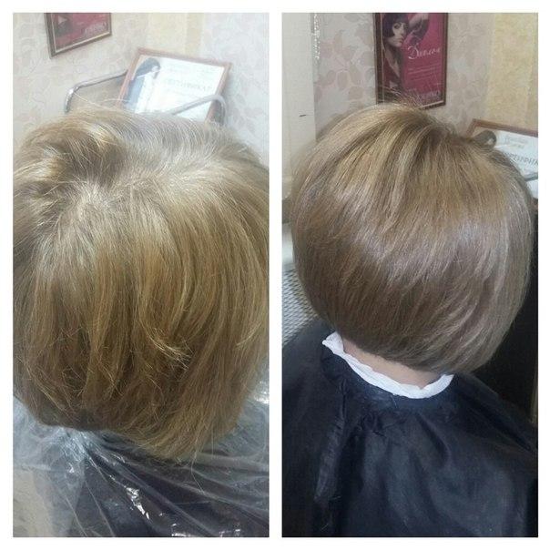 Окраска волос + стрижка, мелирование от 17,50 руб. + питательная маска в подарок!