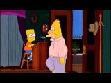 Abuelo Simpson entra al burlesque
