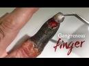 Gangrenous Finger SFX makeup tutorial