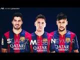 MSN трио Барселоны 2015 - Лучшие голы Месси и Неймар и Суарес за 2015 / Топ 10 голов трио