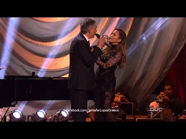 Jennifer Lopez Andrea Bocelli - Quizás, Quizás, Quizás (Dancing With The Stars 2013) HD
