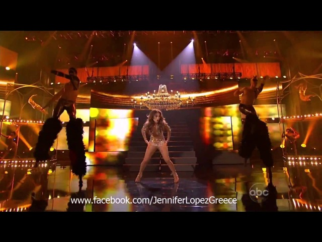 Jennifer Lopez Papi On The Floor Live at American Music Awards 2011 HD