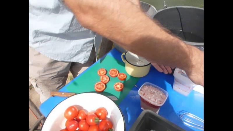 Видео-урок, или Выбираем семена из помидоров Помидома.