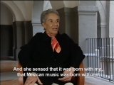 Chavela Vargas talks to Elliot Goldenthal on herself, her songs and Frida Kahlo