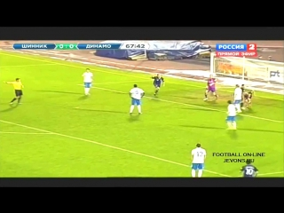 Sergey Samodin Amazing Goal vs Dinamo Moskow