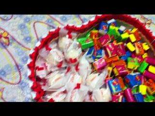 Торт №1 Сердечко из киндер-шоколада