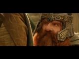 Вырезанная сцена «Властелин колец: Возвращение короля». Мерри присягает Теодену.