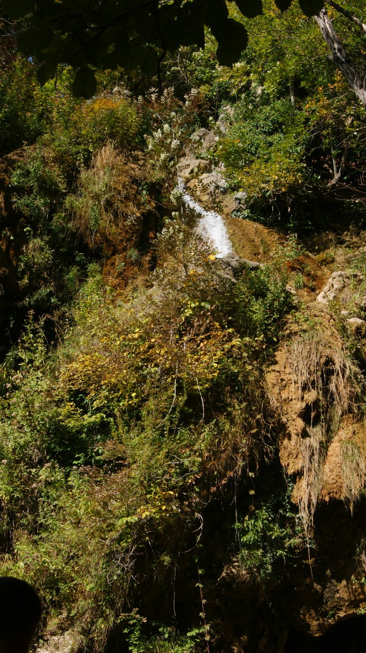 Долина Красных пещер водопд Су- Учхан