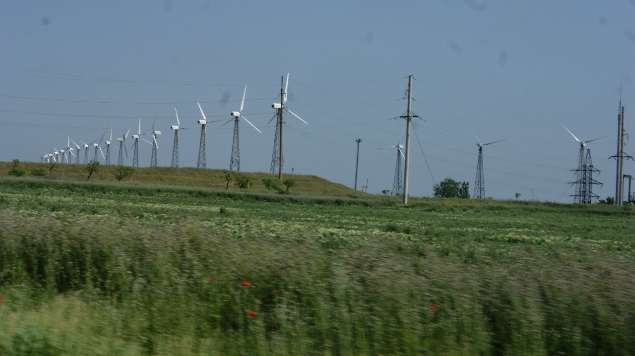 Крымская ветряная электростанция