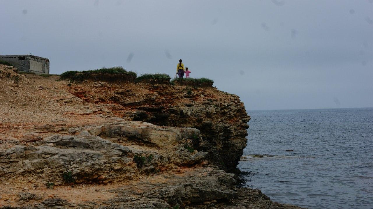 тарханкутские скалы