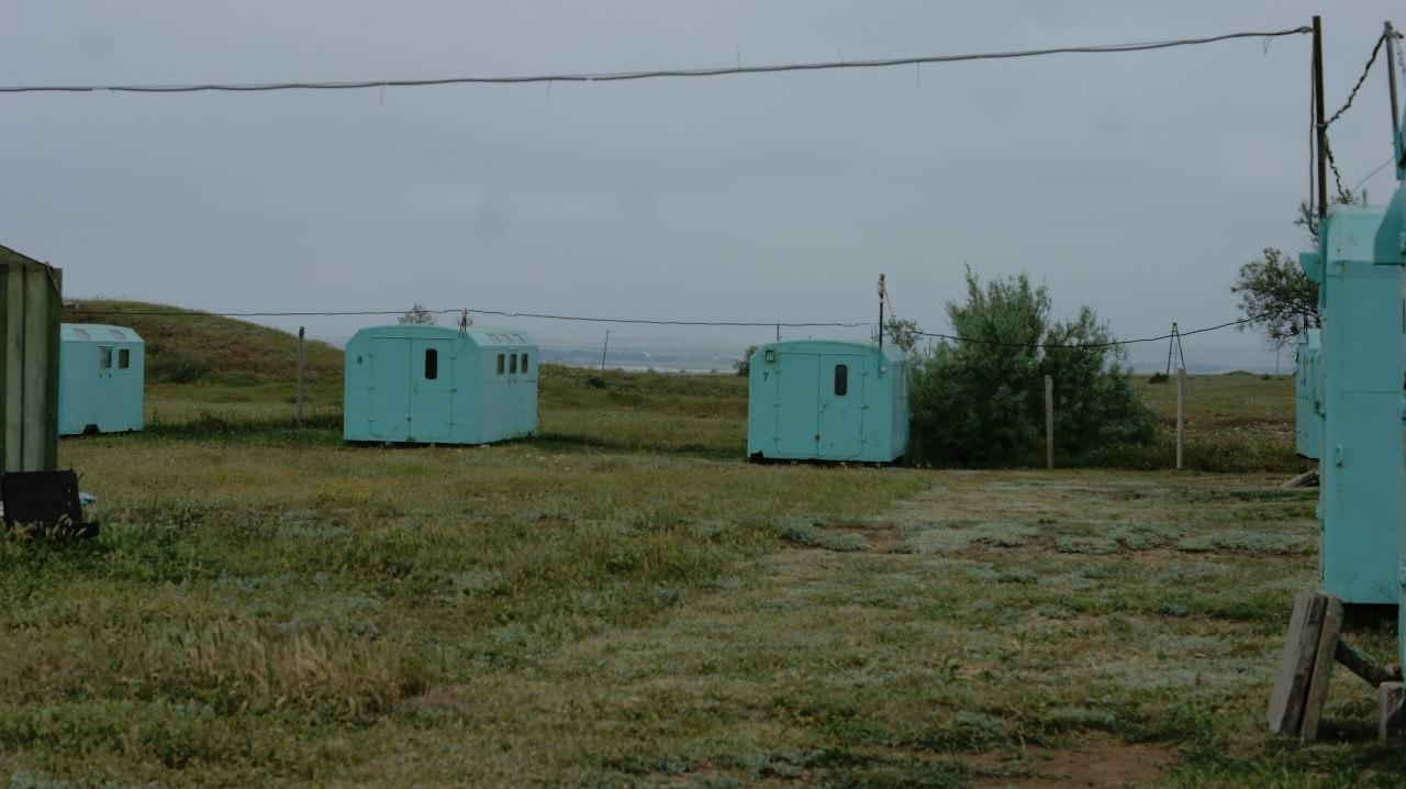 лагерь дайвинга.