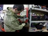 Замена подшипников передней ступицы Daewoo Matiz