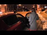Пьяный бывший омоновец на КИА ул. Ленина. Место происшествия 08.12.2015