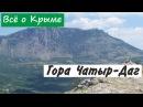 Гора Чатыр-Даг. Достопримечательности Крыма.