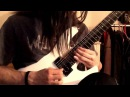 Rings Of Saturn Infused guitar solo cover