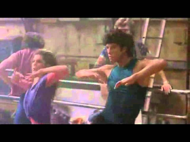 Far from over Frank Stallone Travolta's film Stayingalive