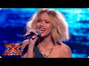 Tamera Foster sings The Voice Within by Christina Aguilera - Live Week 8 - The X Factor 2013