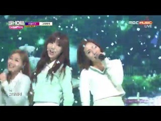 [Comeback Stage] 151216 Lovelyz (러블리즈) - For You (그대에게) @ 쇼챔피언 Show Champion [1080p]
