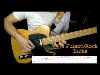 5 Fusion/Rock Licks