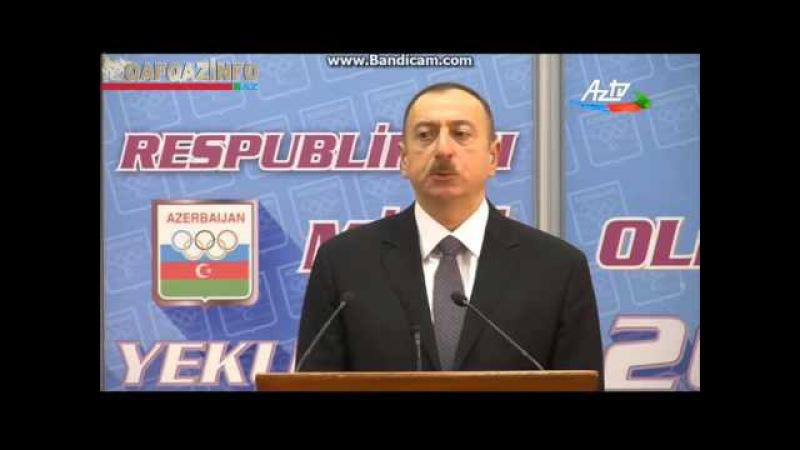 İlham Aliyev manatin ucuzlaşmasindan danisdi 23 dekabr