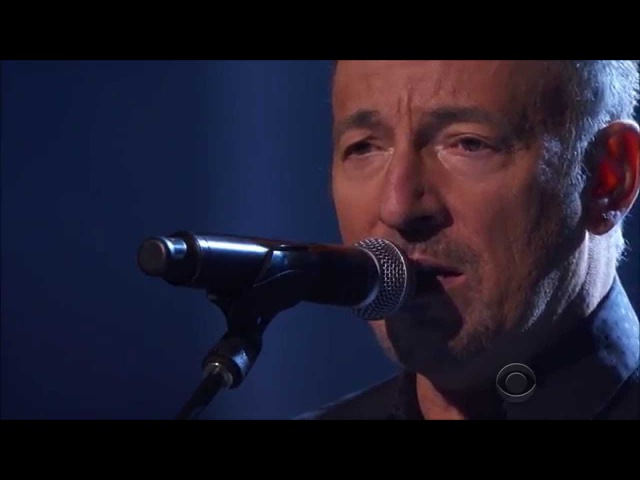 Bruce Springsteen I Hung My Head Sting Kennedy Center Honors 2014