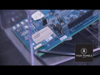 Thud Rumble | Intel Edison Chip Debut at Maker Faire 2015