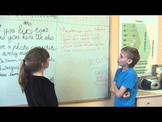 Angļu valodas stunda 5. un 9.klasēn. Sludinājumu rakstīšana un prezentācija.