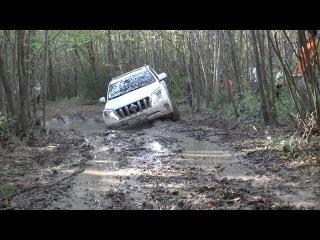 Тест драйв Toyota Land Cruiser Prado 2015 БЕЗДОРОЖЬЕ ! (+ Range Rover Vogue)