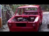 покраска авто своими руками  ВАЗ 2101 классика ( Car Painting )