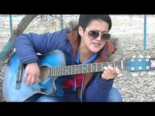 Жанна сеструха на гитаре
