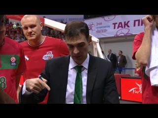 Локомотив Кубань - Барселона (Евролига 2015-2016, 10 тур)