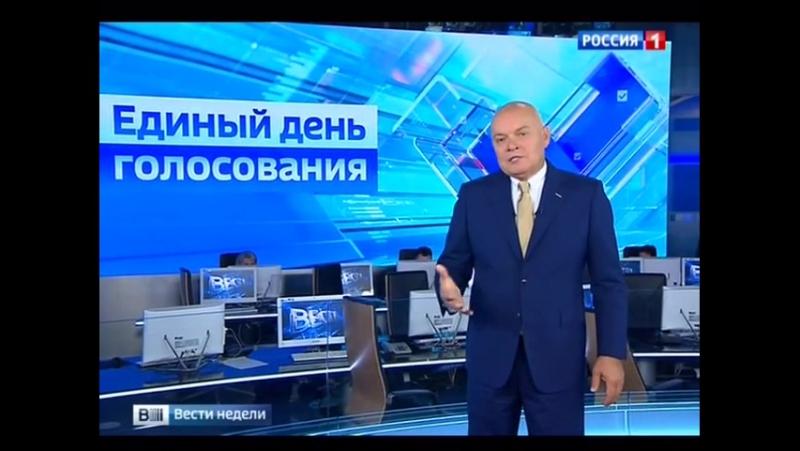 Вести недели с Дмитрием Киселевым: Что происходит в Киеве и слова Путина.22.10.2017