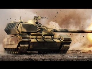 Самый Лучший в Мире танк. Российский Танк Черный Орел или Т 95