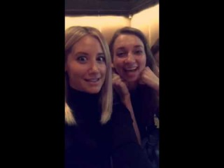 Ashley Tisdale - Snapchat Video - Clipped TBS