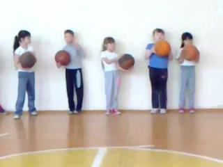 Открытый Урок Физкультуры в 1б, школа 93, Омск