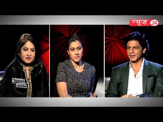 Dilwale | Shahrukh Khan | Kajol | Aamne Samane with अनुराधा प्रसाद